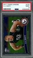 2011 topps chrome #104 J.J. WATT houston texans rookie card PSA 9