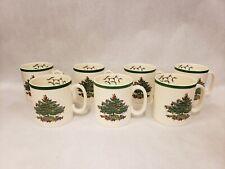 Set of 7 Spode Christmas Tree Tom & Jerry Mugs Coffee Tea Cups S3324