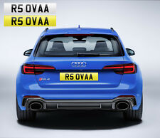 RS OVER (R5 0VAA) FUNNY PRIVATE NUMBER PLATE AUDI RS3 RS4 RS5 RS6 RUDE TOY BOSS