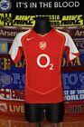 5/5 Arsenal 18-20 XS 2004 home MINT original football shirt jersey trikot soccer