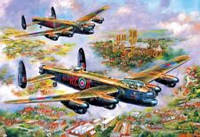 Gibsons - 500 PIECE JIGSAW PUZZLE - Lancasters Over Lincoln