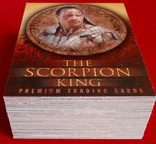 THE SCORPION KING - COMPLETE BASE SET (72 Cards) - Inkworks 2002