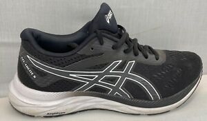 Asics Gel Excite 6 Women Size 7.5 Black and White Running Shoes