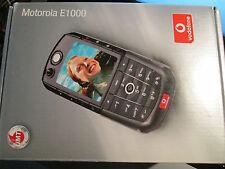 Motorola E 1000 OVP komplett Lader/Heft usw super ok gebr Art 2 E