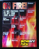 Smash Hits Poster Mag with Eminem, Ash, Tim Wheeler, S.Club Seven, Craig David.