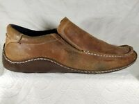 Cole Haan Brown Suede Leather Casual Moc Toe Driving Loafers Shoes Men s Sz  ... 3b2278b82