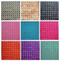 PLASTIC Scrabble Tiles Letters Wooden Set of Game Choice Plastic Wooden 100-1000