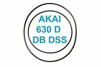 SET BELTS AKAI GX 630 D DB DSS REEL TO REEL EXTRA STRONG FACTORY FRESH 630D 630