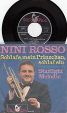 """Nini ROSSO-vado a letto, il mio prinzchen, un sonno/Starlight Melodi, 7"""" SINGLE VG +"""