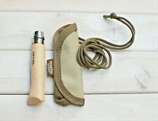 Opinel N°08 Stainless Steel With Hand-made Sheath