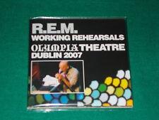 R.E.M.    Working Rehearsals (Olympia Theatre Dublin 2007)  CD DIGIPACK