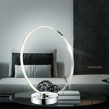 LED Lampe de Table Bureau lumière couloir éclairage chevet chrome tactile
