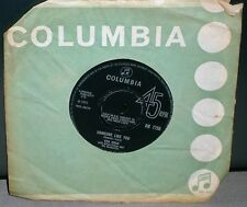 "KEN DODD THE RIVER / SOMEONE LIKE YOU DB 7750 1965 COLUMBIA RECORDS 7"" VINYL"