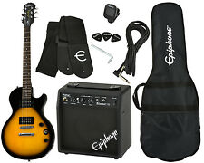 Epiphone Les Paul Special II Ltd vs Player Pack-e-guitarra-amp - vintage sunb
