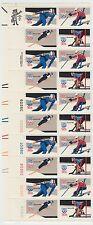 block of 20 OLYMPICS 1980 stamps - Scott #1795 - 1798 MNH Lake Placid 15c
