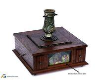 Christbaumständer mit Spieluhr um 1900  (# 13446)