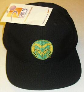 Colorado State Rams Sports Specialties 90s Vintage Snapback All Black