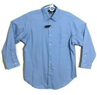 Polo Ralph Lauren Dress Shirt Mens 3XLT Long Sleeve Blue Plaid Button Down