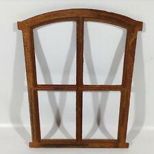 803A Stallfenster Gusseisen Natursteinmauer Guss Eisenfenster Gartengestaltung