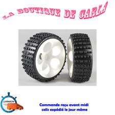 2 roues jantes pneus pour FG 1:6 Buggy 2WD Marder Baja Beetle