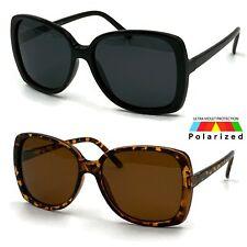 Polarized Large Oversized Big Butterfly Jackie O Square Sunglasses Womens Huge