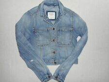 Girls Abercrombie & Fitch Jean Trucker Jacket *Sz XS* Lots of photos *No Reserve