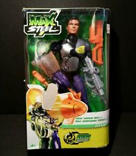 2010 Mattel Max Steel Toxic Armor Max Action Figure 11 Inches Tall