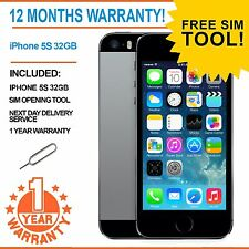 Apple iPhone 5S 32GB EE Orange T-Mobile Virgin Mobile - Space Grey