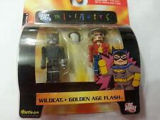 Minimates DC Golden Age Flash and Wildcat (Series 4) Sealed