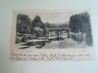 BRECON, The Aqueduct - Old Postcard -  Franked & Stamped 1901 §E1468