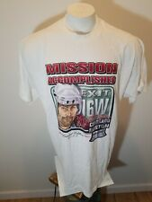 VTG 2001 RAY BOURQUE No. 77 COLORADO AVALANCHE Mission Accomplished 2XL