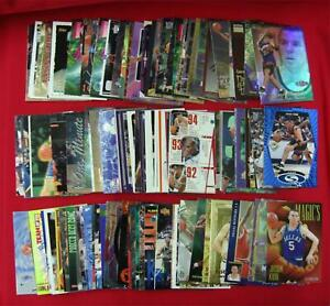 JASON KIDD  135 CARD LOT  MOSTLY DIFFERENT  PREMIUMS INSERTS ROOKIES PARALLELS