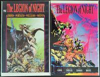 The Legion Of Night 1 2 Complete Marvel Graphic Novel Comic Set Run 1-2 *NM*