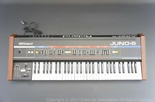 Roland Juno-6   Perfect Working / New Battery  Serial # 2161 **