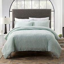 Sparrow & Wren 100% Cotton KING Duvet Cover & 2 KING Pillowcases Set Aqua E5105