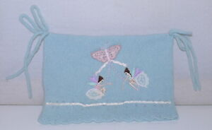 Monsoon Baby Lambswool Blue Fairy Hat GUC 0-12 Months