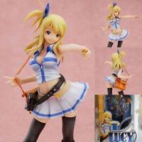 "Anime Fairy Tail 7"" Figure Lucy Heartfilia 1/7 Scale 21cm PVC New In Box"