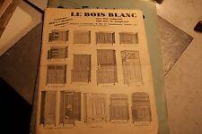 le bois blanc catalogue  objete et meubles classiques
