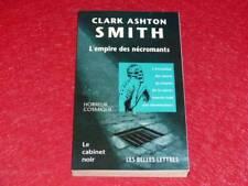 [BIBLIOTHEQUE H. & P-J. OSWALD] CABINET NOIR # 18 CLARK ASHTON SMITH NECROMANTS