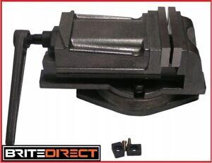 "100 mm 4"" Machine Vice Milling Swivel Base Precision Press Bench Engineering"