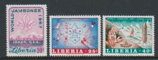 Liberia - 1967, World Scout Jamboree, Idaho set - Perf - MNH - SG 958/60