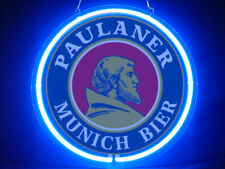Paulaner Munich Beer Hub Bar Display Advertising Neon Sign