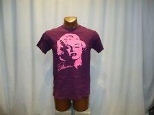 MARILYN MONROE Palm Springs, CA purple medium t-shirt, American actress/model