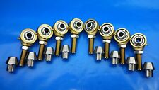 3/4 x 5/8 Bore 4-Link Chromoly Rod End Kit,Heim Joints (Bung 1-1/4 x .095) Flex
