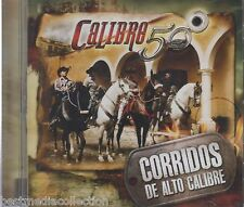 Calibre 50 CD NEW Corridos De Alto Calibre ALBUM 14 Corridos Nuevos SEALED