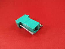 Cisco RJ45 to DB9 Female Adapter, Console, PC Serial, Green.