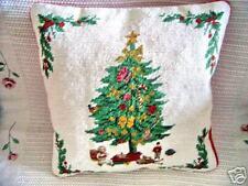 NEW Wool Handmade Xmas Tree Cushion Cover ~~Gr8 Gift~~