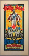"Billy Idol 2001 Original Concert Poster Screenprint 2001 Seattle WA 29"" x 15"""