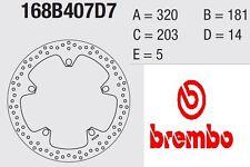 Disco freno BREMBO Serie Oro ANTERIORE BMW 1300 K 1300 S 09 > 12