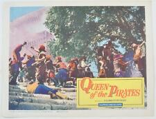 "Vintage ""Queen Of The Pirates"" Original 1961 Lobby Card 11X14"